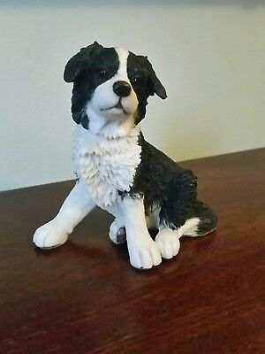 Border Collie Dog Figurine