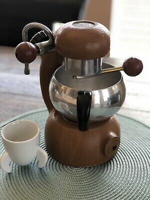 Atomic Brevetti Stovetop Espresso Coffee Maker With Frother and Accessories