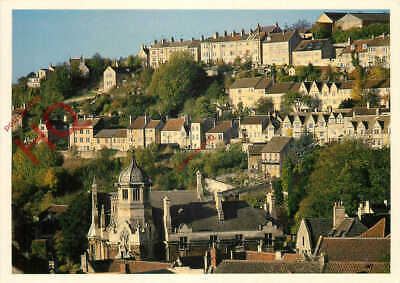 Picture Postcard_ Bradford-On-Avon, View Of Terraces Of Weavers' Cottages