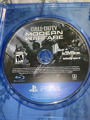 Call Of Duty Modern Warfare (2019) PS4 No Original Case