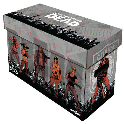 BCW Short Comic Book Storage Box - Walking Dead Artwork - Holds Up To 175 Comics