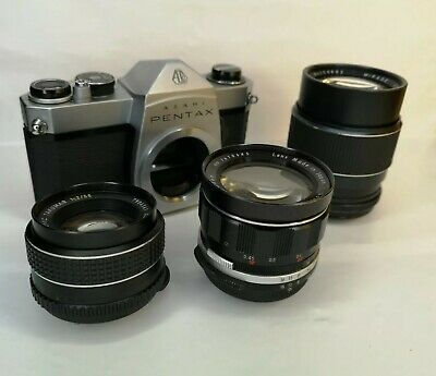 Pentax sp500 with 2 lenses