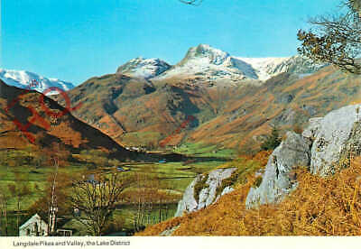 Picture Postcard_ The Lake District, Langdale Pikes And Valley [Dennis]