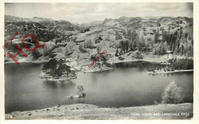 Picture Postcard__English Lake District, Tarn Hows And Langdale Pikes [Abraham]