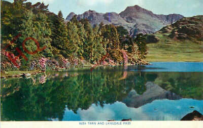 Picture Postcard__English Lake District, Blea Tarn And Langdale Pikes