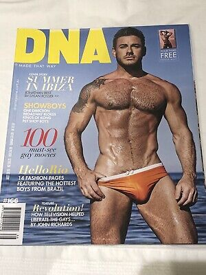 DNA Gay Lifestyle Magazine #166 Mint Condition