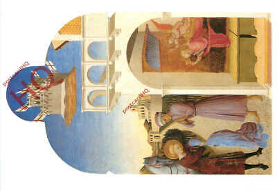 Sassetta The Whim of St Francis to become a soldier Postcard unused VGC