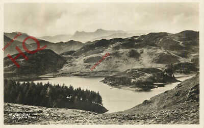 Picture Postcard> English Lake District, Tarn Hows And Langdale Pikes