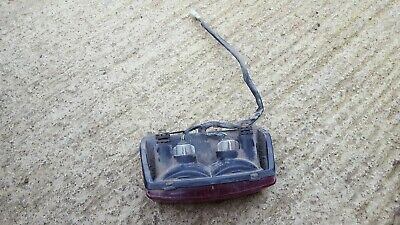 Honda ntv 650 revere rear light brake light. RC33