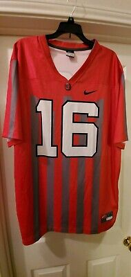 Nike Throwback Ohio State Buckeyes Osu Basketball Jersey