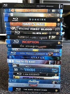 21 Blu-Ray Movies Bundle Package - Great Condition! Blu Ray