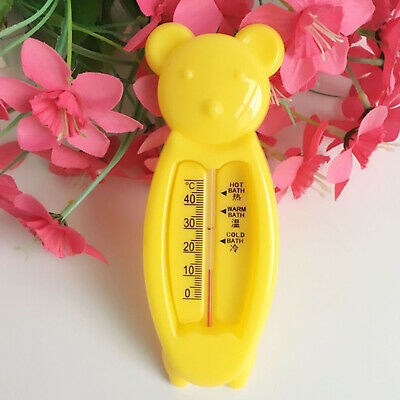 Baby Bath Thermometer Bear Safe Water Kids Temperature New UK