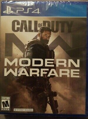 Call of Duty: Modern Warfare (PlayStation 4, 2019) Factory sealed
