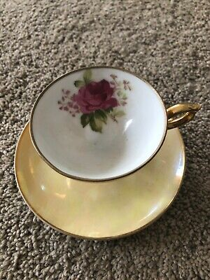 Antique Tea Cup and Saucer