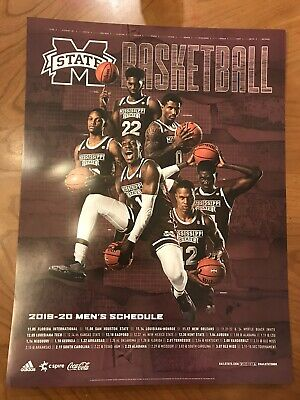 Cws 2020 Schedule.2019 Mississippi State Baseball Schedule Poster Huge 18 X 24