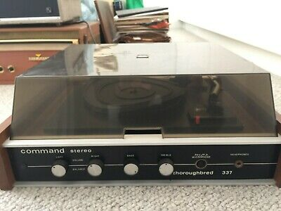 Vintage Stereo - Command Thoroughbred - With Garrard Turntable