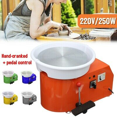 32CM Pottery Wheel Pottery Machine For Ceramic Work Clay w/Foot Pedal Heavy Duty