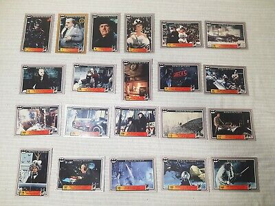 Topps Batman 1992 Trading Cards Mixed Lot With Gold Card