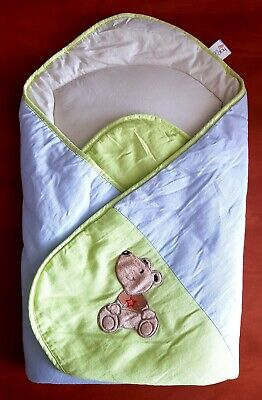 Ceba Baby, Baby Girl, Lovely Wrap With Coconut Mattress, Perfect Condition