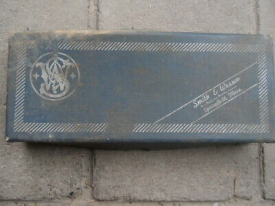 Smith And Wesson  Original Box, Warranty Card ,Knife Brochure,Police Special