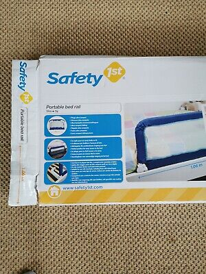 Safety 1st Portable Bed Rail Blue, guard adjustable length