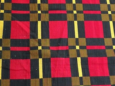 Rare Textile Collection - Excellent large Hand Loom Blanket Hinghi - Africa?