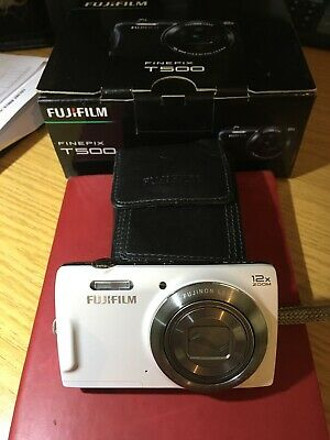 Finepix T500 Fujifilm Camera, Boxed low usage, outstanding Condition.