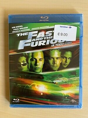 The Fast & The Furious (A Todo Gas) (Blu-ray)
