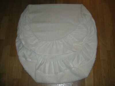 Fleece cot bed or cot fitted bottom sheet in very good condition