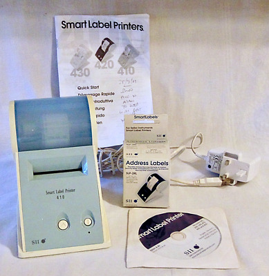 Seiko Instruments SII Smart Label Printer 410 Monochrome Direct Thermal + Labels