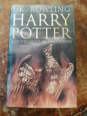 Harry Potter And The Order Of The Phoenix . Hardback 1st Edition