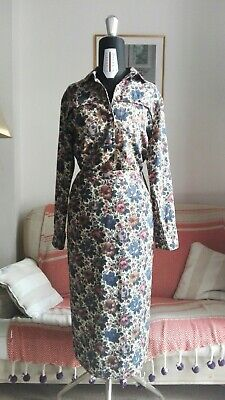 Vintage Floral Blouse & Skirt set - Fabric by Liberty