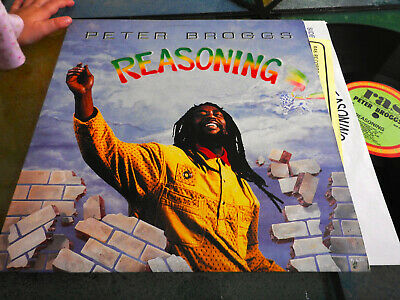 LP  US 1990  Peter Broggs – Reasoning Label: Real Authentic Sound – RAS 3051