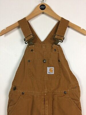 Kids Carhartt Dungarees / Age 7-8yrs / Padded / Overalls / Casual