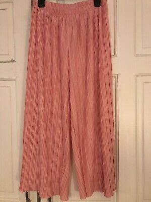 ZARA Pink Girls Trousers / Pants Age 13-14