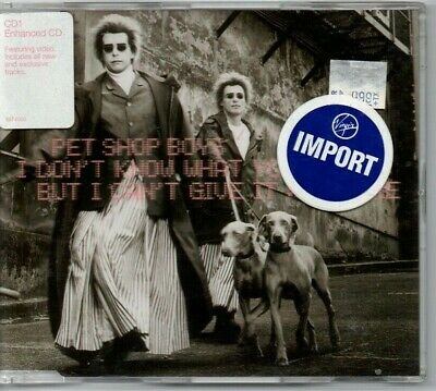 """Pet Shop Boys - """"I Don't Know What You Want...""""  (Rare '99 Import Enhanced Cd)"""