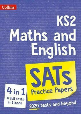 New Collins Ks2 Maths And English Sats Practice Papers For The 2020 Tests