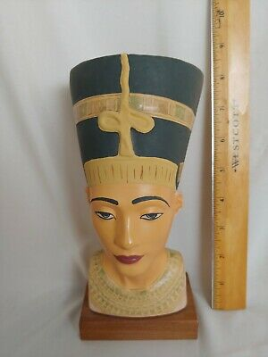 Alva Studios Replica Of Nefertiti Queen Egyptian Head Bust Statue