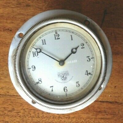 Smiths 8 day Car Clock - Vintage