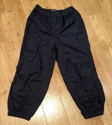 NEXT Kids Navy Waterproof Trousers, Age 4-5 Years