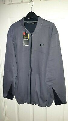 Under Armour Cold Gear STORM Jacket Water Resistant Grey Size XL BNWT RRP £79!!