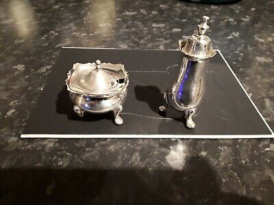 Viners Taiwan silver plated Condiment Set