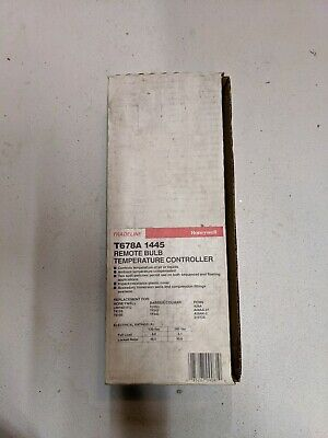 New Honeywell T678A-1445 Remote Bulb Temperature Controller