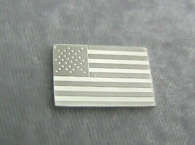 SOLID SILVER INGOT of the 16th US FLAG