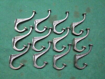 12 Cast Iron Antique Look Coat Hook Hat Hook Hall Tree School House