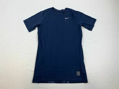 NEW Nike - Men'sNavy Blue Compression  Short Sleeve Shirt (Multiple Sizes)