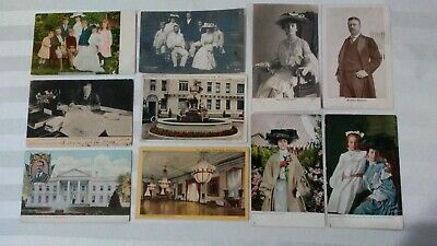 Lot of 10 Vintage President Theodore Teddy Roosevelt Postcards early 1900s