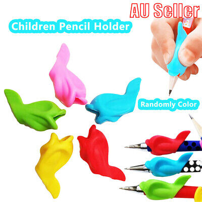 Children Pencil Holder Pen Writing Aid Grip Posture Tools Correction for kids JO