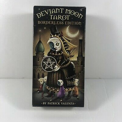 Deviant Moon Borderless Edition Tarot Deck Cards Wiccan Pagan Metaphysical