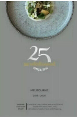 Melbourne entertainment book vouchers 2019 2020